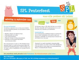 advertentie peuterfeest spl 2017